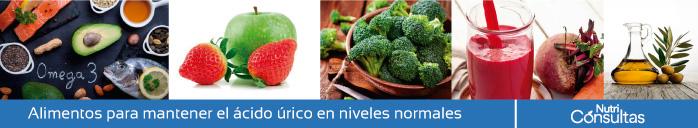 Ácido úrico: alimentación para el equilibrio de ácido úrico