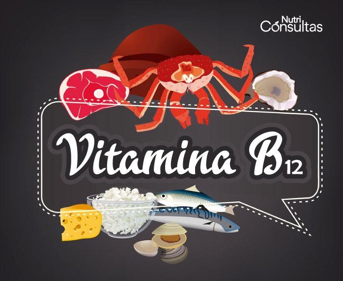 Función de la vitamina B12: alimentos ricos en vitamina B12