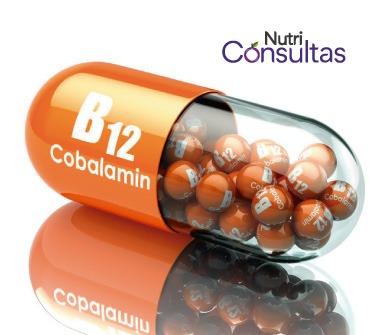 Función de la vitamina B12: cobalamina