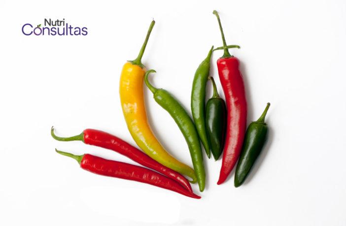 Beneficios del chile: nutriconsultas